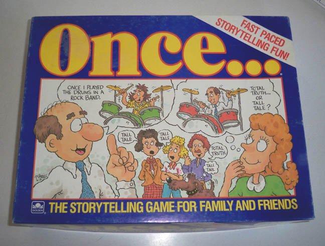 Vintage Golden 1987 Once... Game