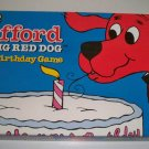 RoseArt 2000 Clifford THE BIG RED DOG Happy Birthday Board Game