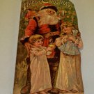 1983 Merrimack Publishing Corp Father Christmas Diecut Antique Reproduction