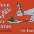 University Games 2000 Green Eggs & Ham Board Game