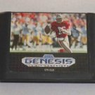 Sega Genesis Game Cartridge - NFL Sports Talk Football '93 Joe Montana