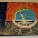 1940s Pilotone Radio Corp. Radio City Music Hall Symphony Orchestra Gilbert & Sullivan 78s