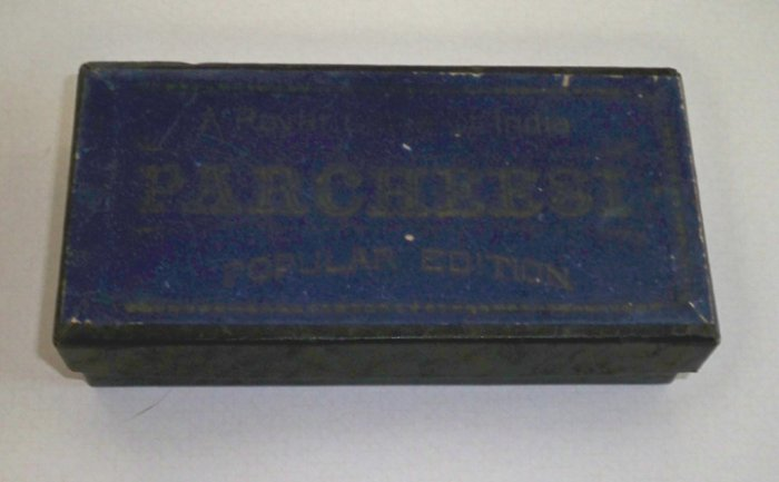 Vintage 1918 Selchow & Righter Parcheesi Game In Box