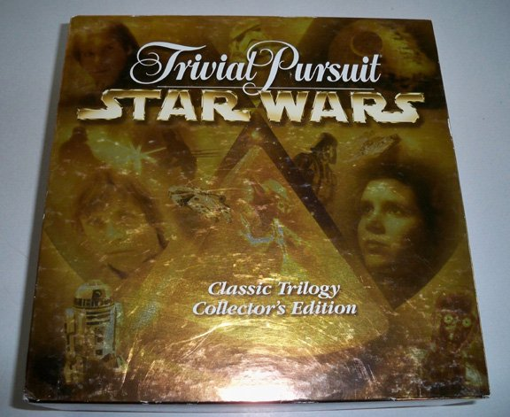 Vintage 1997 Trivial Pursuit - Star Wars, Classic Trilogy Collectors Edition