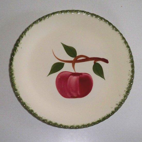 Vintage Blue Ridge Handpainted Quaker Apple Salad Plate