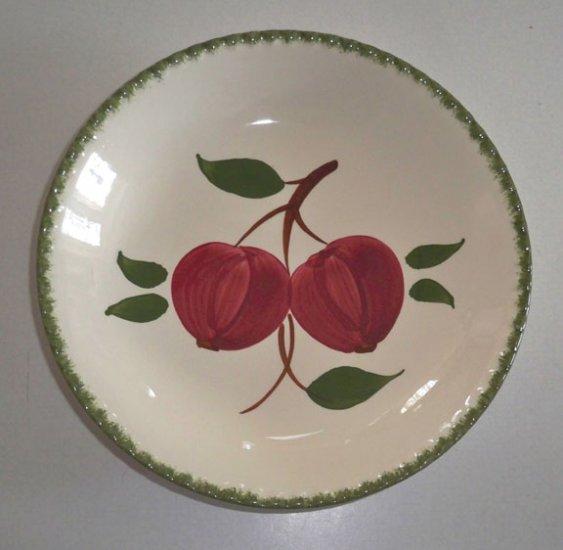 Vintage Blue Ridge Handpainted Quaker Apple Soup Bowl