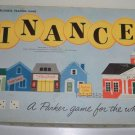 Vintage 1958 Parker Bros. Finance Board Game