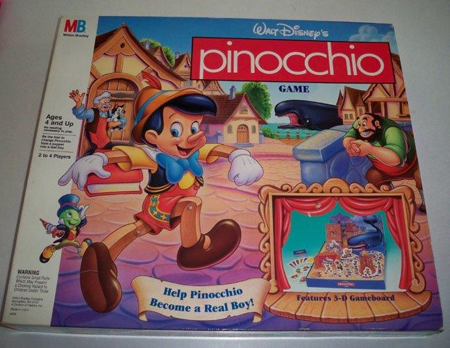 Пиноккио Игра Почему