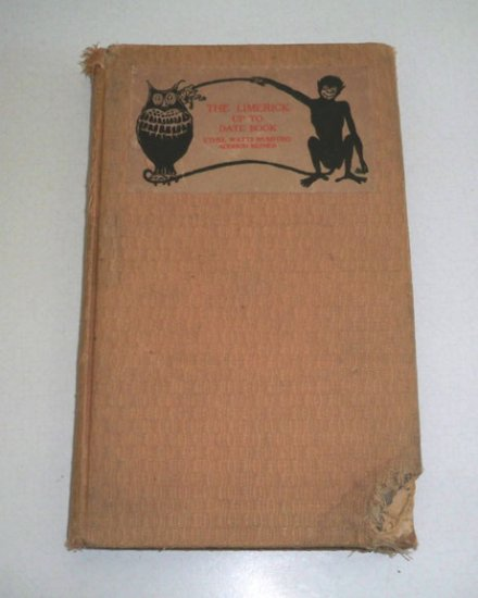 Antique 1903 Mumford The Limerick Up To Date Book - Signed Addison Cairns Mizner