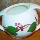 Vintage Blue Ridge Handpainted Stanhome Ivy Sugar Bowl no lid