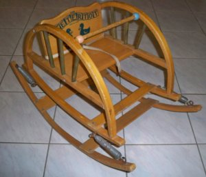 Vintage Teetertot Child's Rocker Original
