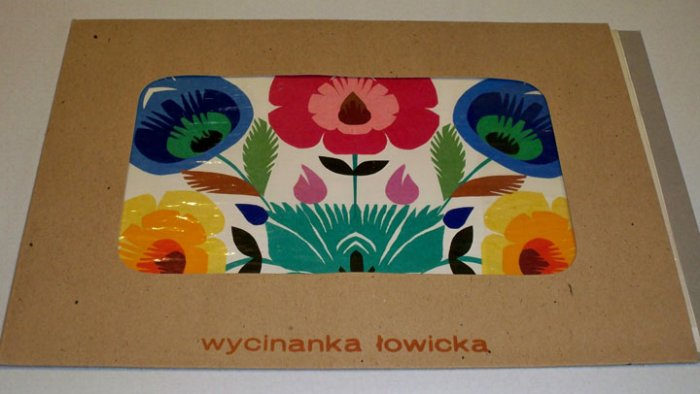Cepelia Polish Paper Cuts (Wycinanki) Sztuka Lowicka Hand Made in Poland
