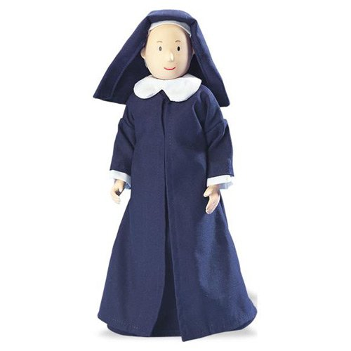 Eden Toys 10-inch Poseable Miss Clavel Doll NIB circa 2000