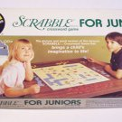 Vintage 1982 Selchow & Righter Scrabble Crossword Game for Juniors Edition Five