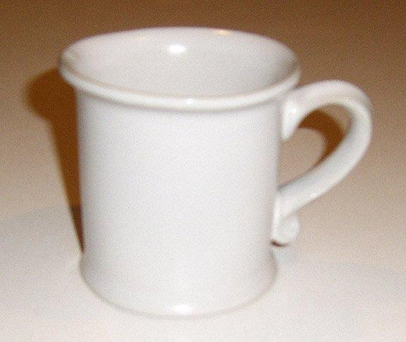 Bennington Potters Stoneware Mug #1733 - White Set of 4