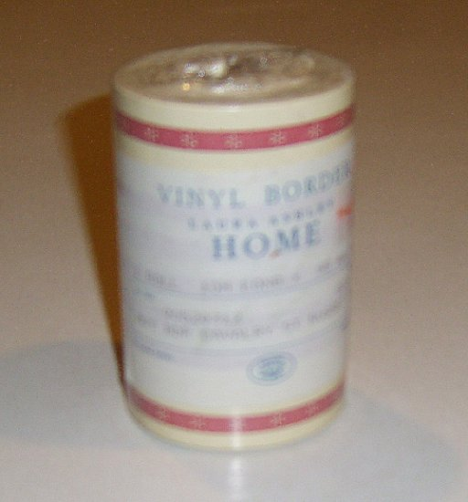 Laura Ashley Home Cavalry Stripe Vinyl Wallpaper Border - 2 rolls