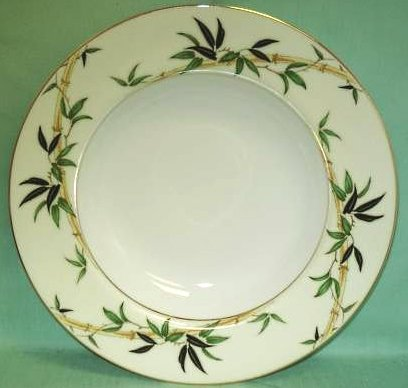 Vintage Kent China Bali Hai Salad Plate MIJ Set of 2