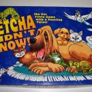 Vintage 1999 Patch Petcha Didn't Know! Game