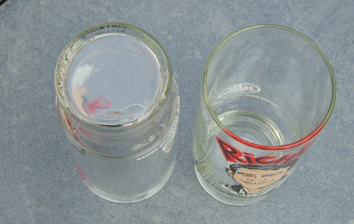 Vintage 1977 Happy Days Richie Collectors Glass Tumbler