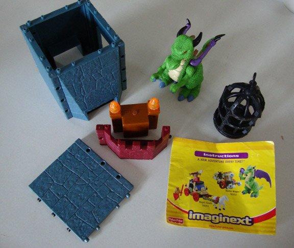 Miscellaneous Pieces - Fisher Price Imaginext Battle Castle Model # 78333