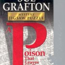 bePuzzled 2002 Sue Grafton Mystery A Poison That Leaves No Trace