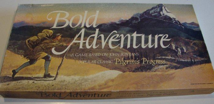 Vintage 1982 Rock Harbor Creations Bold Adventure Board Game