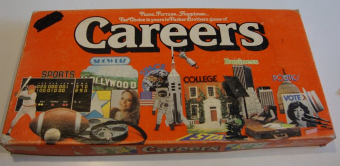 Vintage 1979 Careers The Game of Fame, Fortune and Happiness