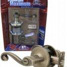 Kwikset Lido Antique Brass 405LL Keyed Entry Lockset - Right Hand