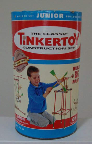 Tinkertoy The Classic Construction Set Junior Ages 3-9