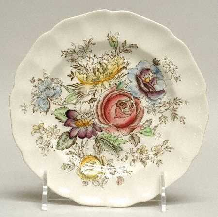 Vintage Johnson Brothers Sheraton Bread and Butter Plate Set of 4