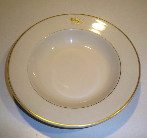 Vintage Syracuse Restaurant Ware Bell Aircraft Corporation Soup Bowl
