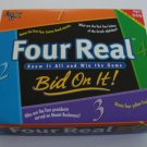 1999 University Games Four Real Board Game