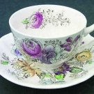 Vintage Johnson Brothers Sheraton Cup and Saucer Set of 2