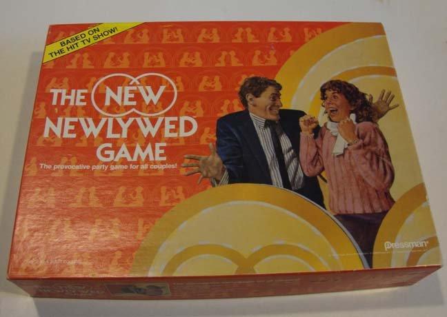 Vintage 1986 Pressman The Newlywed Game