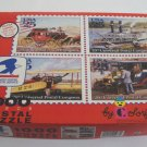 Vintage 1990 Colorforms USPS 20th Universal Postal Congress Stamps 1000 Piece Puzzle
