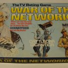 Vintage 1979 War of the Networks Board Game