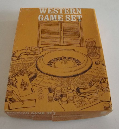 Vintage Field Mfg. Western Game Set circa 1970s?