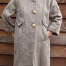 Vintage 1950s Forstmann Wool Heather Coat