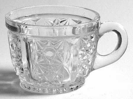 Vintage Tiffin Royal Clear Punch Cup