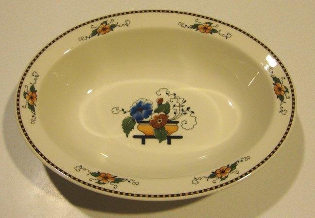 Vintage Syracuse China Old Ivory Chiquita Oval Vegetable Bowl