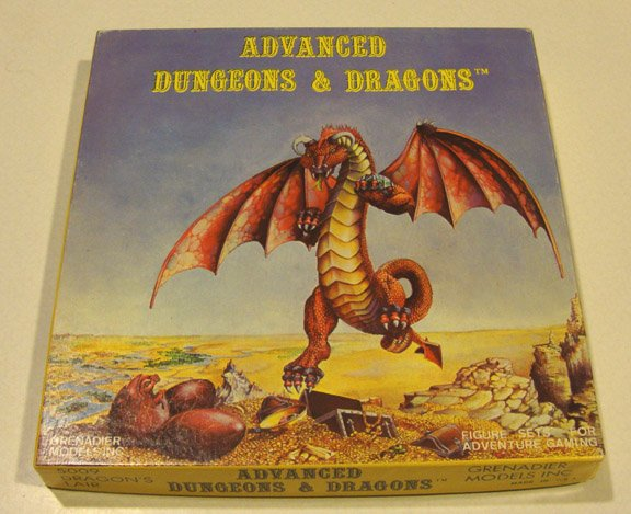 Vintage 1980 Grenadier Models 5009 DRAGON'S LAIR - Advanced Dungeons and Dragons