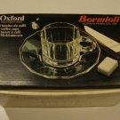 Vintage Bormioli Oxford Roberto Menghi Cup & Saucer - Set of 5 MIB