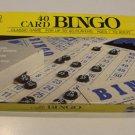 Vintage 1989 Golden 40 Card Bingo Game