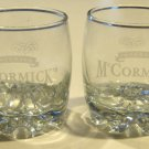 McCormick's Irish Cream Advertising On the Rocks Glass Bormioli GALASSIA - Set of 2