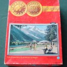 Vintage 1960s Jaymar PanAm Airlines Mt. Blanc France Puzzle #5000/14-2 600 Pc