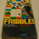 Vintage 1978 Warren Fribble! Board Game