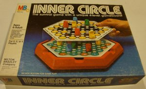 Vintage 1981 Milton Bradley Inner Circle Game