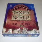 Vintage 1995 bePuzzled Taxed to Death Mystery Jigsaw Thriller