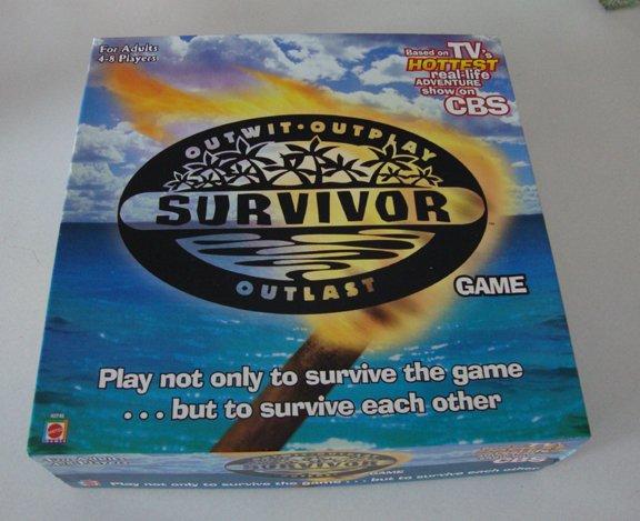 Brand New Mattel 2000 Survivor Board Game No. 42745 MIB