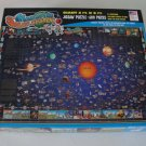 Vintage Great American Puzzle Factory Map of the Solar System Puzzle